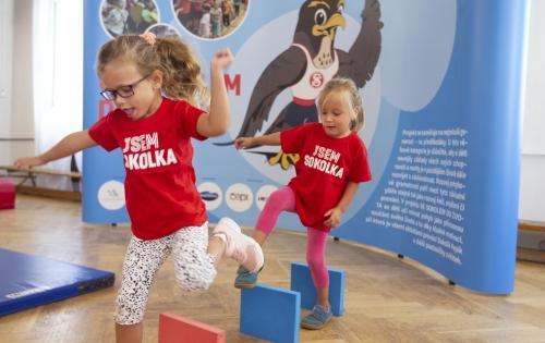 Se Sokolem do života cvičí už více než čtvrtina českých školek, zapojeno je skoro 90 tisíc dětí